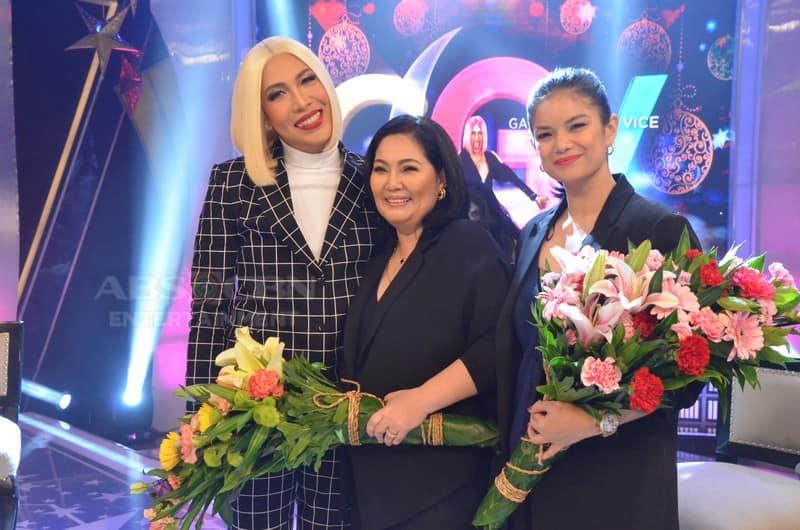 PHOTOS: Maricel Soriano, Meryll Soriano, and Jessica Sanchez on Gandang Gabi Vice