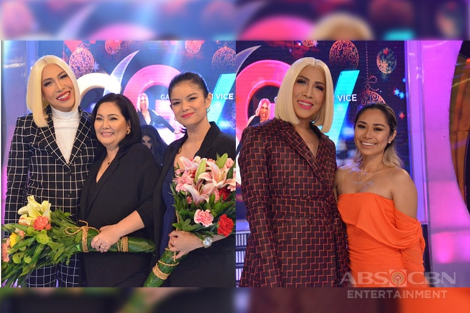 PHOTOS: Maricel Soriano, Meryll Soriano, and Jessica Sanchez on Gandang Gabi Vice