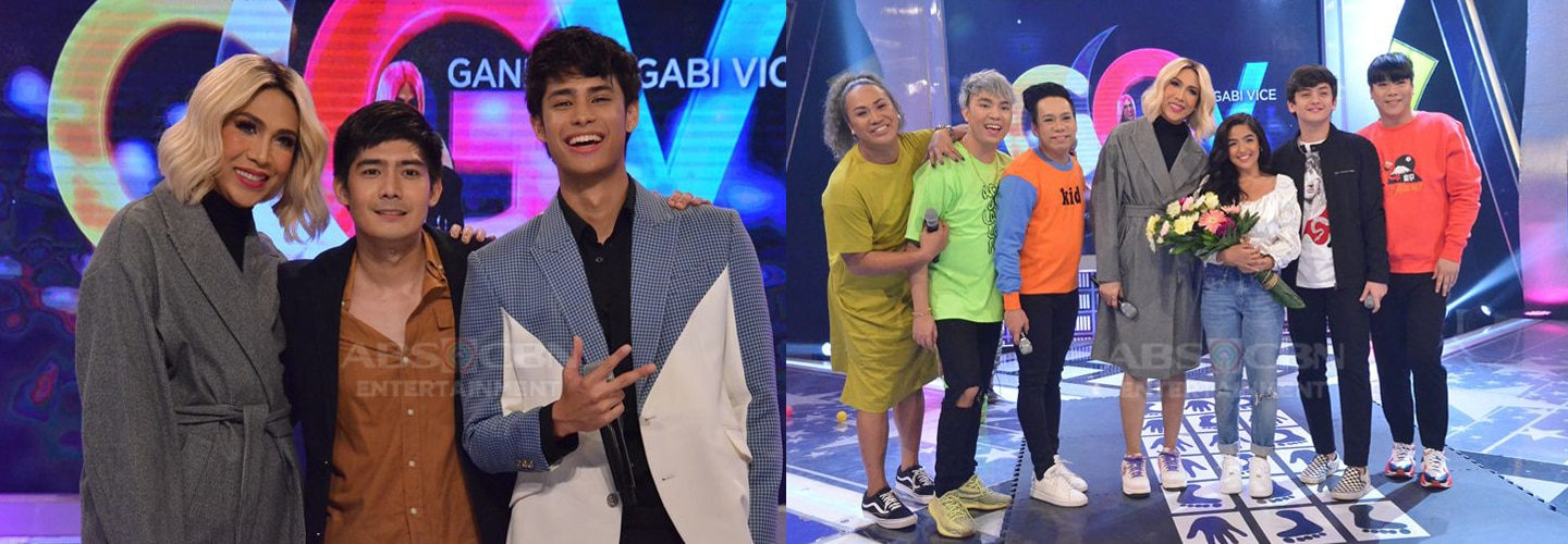PHOTOS: Robi Domingo, Donny Pangilinan and SethDrea on Gandang Gabi Vice