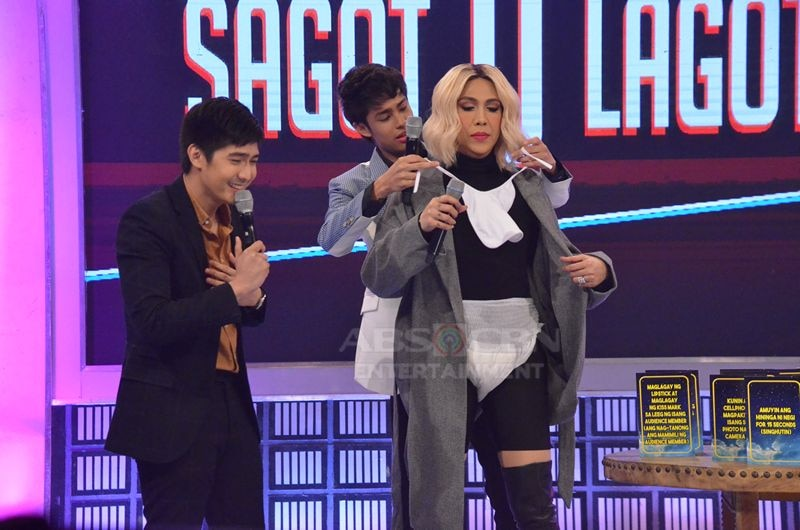 Robi Domingo, Donny Pangilinan and SethDrea on Gandang Gabi Vice