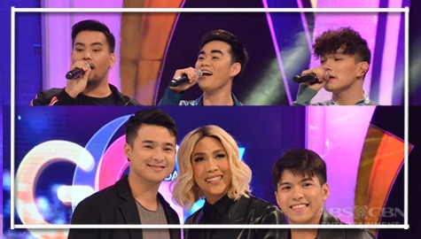 PHOTOS: Nash Aguas, Jerome Ponce, iDolls and Mark Michael on Gandang Gabi Vice!