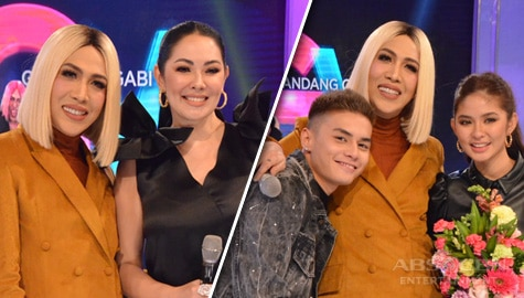 PHOTOS: Ruffa Gutierrez and LoiNie on Gandang Gabi Vice!