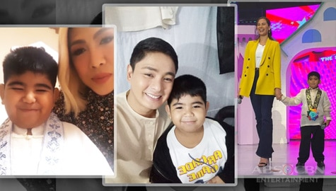 LOOK: Mini Yorme Aaron's photos that proved he's winning the hearts of Kapamilya celebs and madlang people!