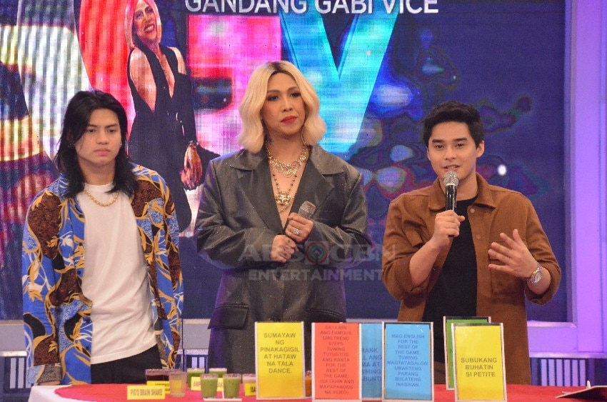 Kid Yambao and McCoy de Leon on Gandang Gabi Vice