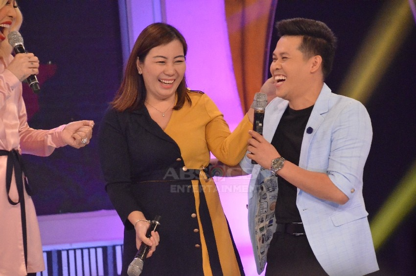Marcelito Pomoy on Gandang Gabi Vice