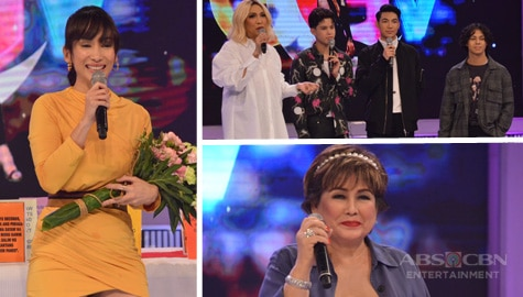 PHOTOS: Annabelle Rama, Ina Raymundo, Darren Espanto, Kyle Echarri and Ken San Jose on GGV