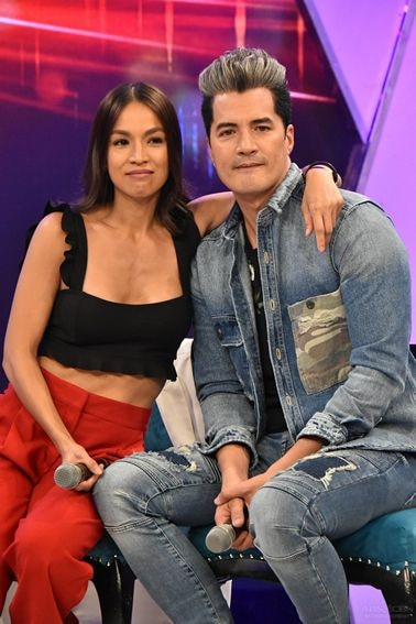 Aubrey Miles and Troy Montero on Gandang Gabi Vice May 2018