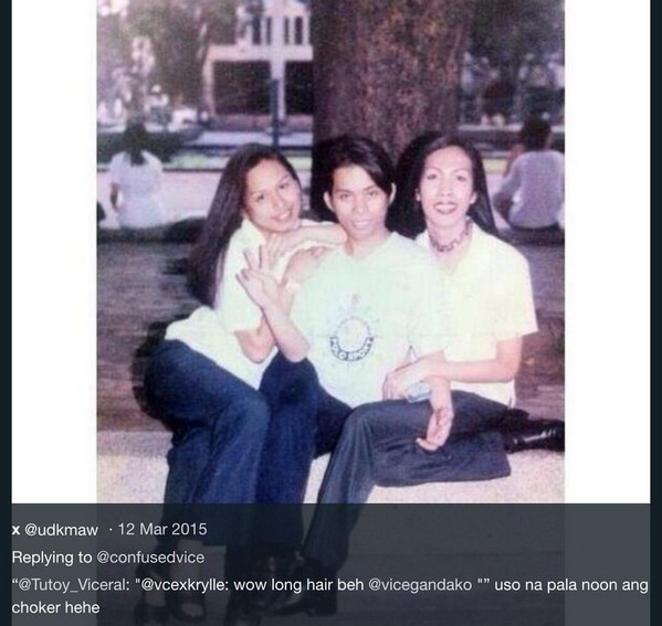 Ilang throwback photos ni Vice Ganda