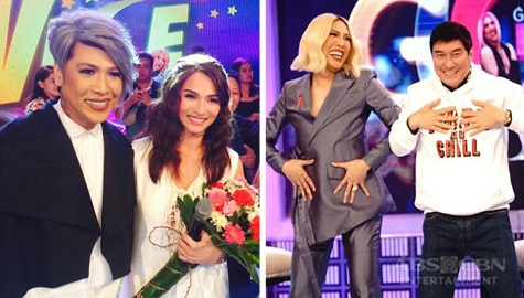 7 non-Kapamilya celebs who graced Gandang Gabi Vice through the years