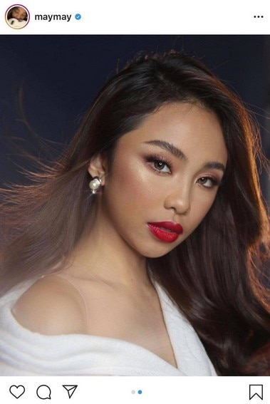 Maymay Entrata with her model-worthy poses