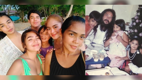 PICTURES! Andrea Brillantes with her lovable family