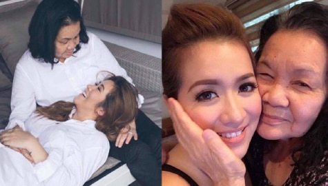 IN PHOTOS: Angeline Quinto's heartwarming moments with her Mama Bob