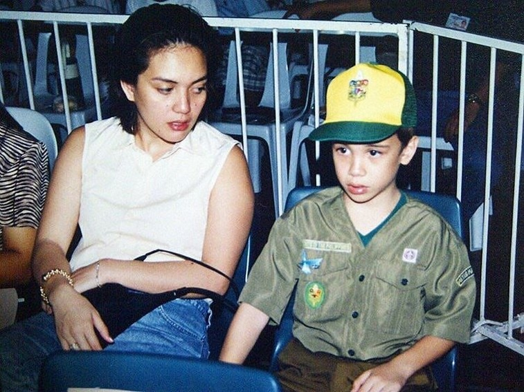 Sylvia Sanchez with her equally talented kids