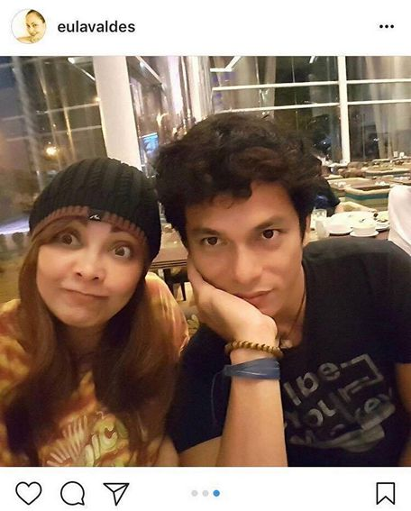 IN PHOTOS: Eula Valdez with her loving partner for life
