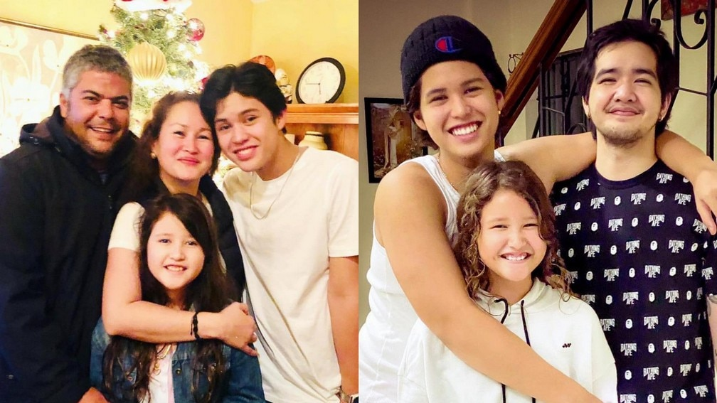 IN PHOTOS: Kyle Echarri with his lovable family