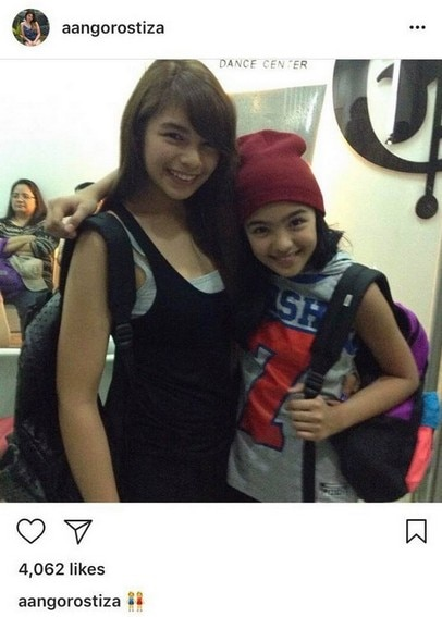Andrea Brillantes with her gorgeous sisters