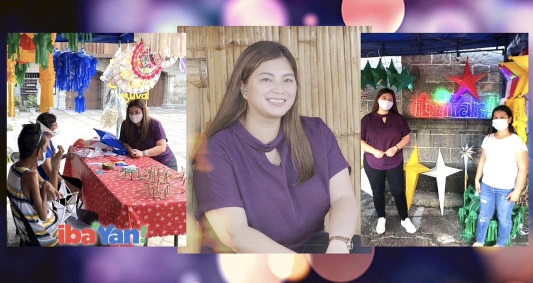 BEHIND-THE-SCENES: Angel Locsin, kinumusta ang kalagayan ng Pinoy parol makers sa Iba 'Yan   PHOTOS
