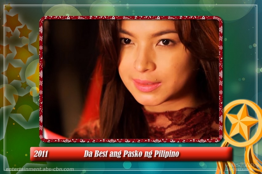 IN PHOTOS: Check out Angel Locsin's standout appearances on ABS-CBN Christmas Station IDs through the years!