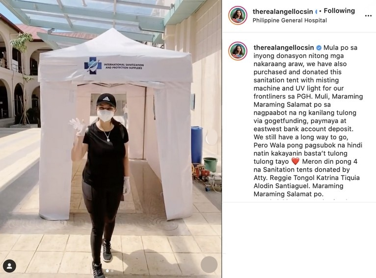IN PHOTOS: Angel Locsin's acts of kindness through the years