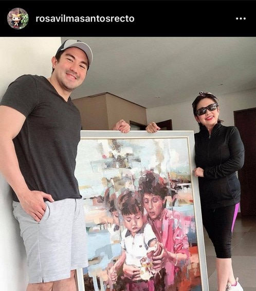 Vilma Santos Luiz Manzano mother son