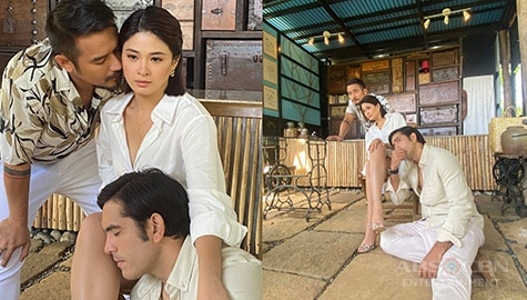 Behind-the-scenes of Init Sa Magdamag pictorial