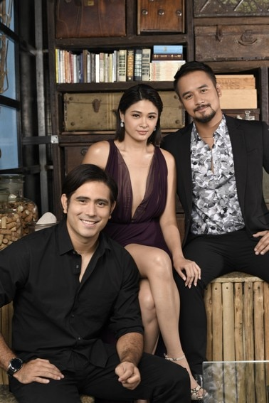 These photos of Init sa Magdamag stars Yam, Gerald and JM are hotter than the summer heat!
