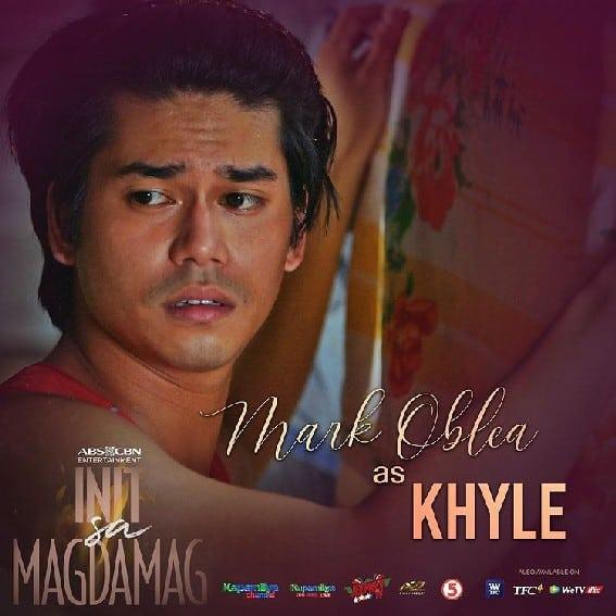 Mark Oblea as Khyle in Init sa Magdamag