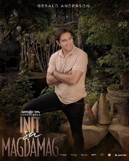 Gerald Anderson as Tupe in Init sa Magdamag