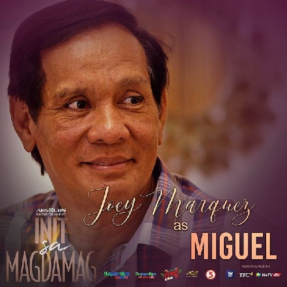 Joey Marquez as Miguel in Init sa Magdamag