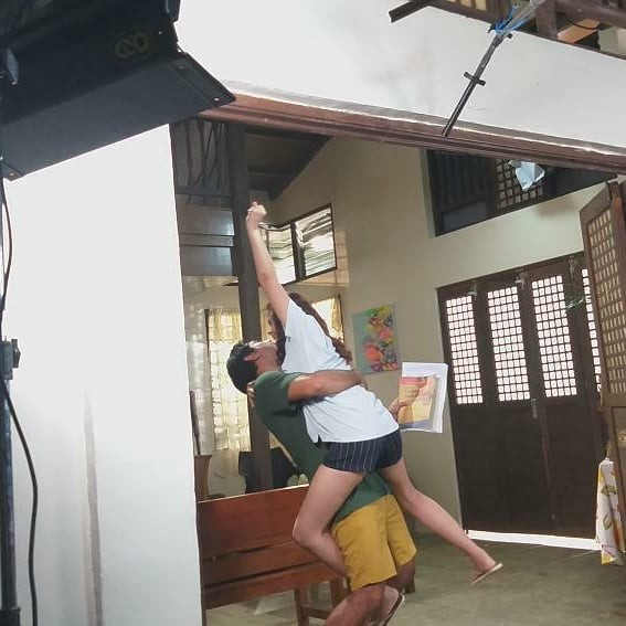 IN PHOTOS: Init Sa Magdamag stars get ready for intense, heated drama behind the scenes