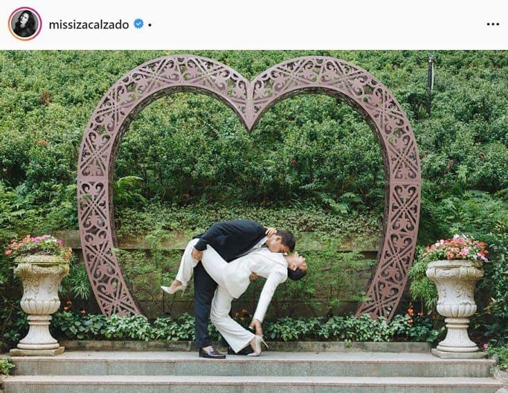 Iza Calzado enjoying her married life with Ben!