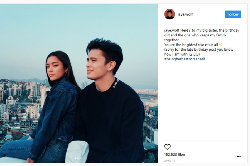 IN PHOTOS: James Reid's unbreakable bond with his sister Lauren