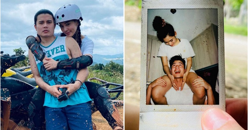 SWEET! Valentine's day is not yet over with these photos of Ate Girl Jackque & Hashtag Tom
