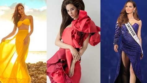 Miss Universe 2018 Catriona Gray and her gorgeous photos!