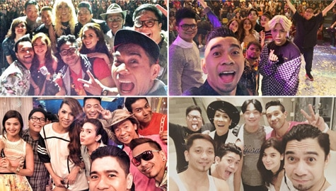 its showtime family group selfie picture vice ganda jhong vhong anne curtis karylle jugs teddy amy mariel ryan bang catriona kim chiu happy