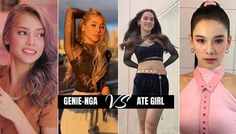 its showtime genienga christine samson piling lucky ate girl jackque jackie