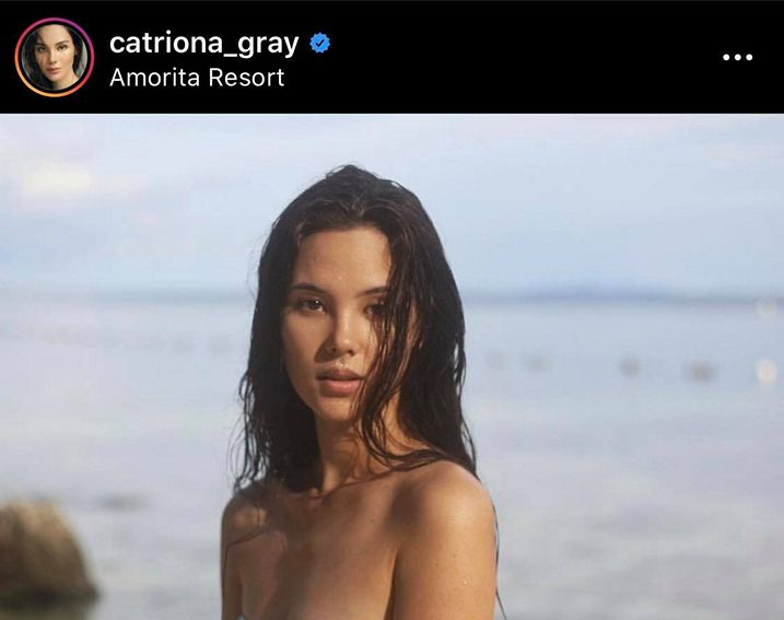 miss universe 2017 catriona gray showtime host simple beauty