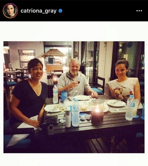 its showtime miss universe 2018 catriona gray family