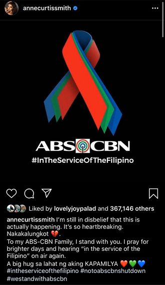 SHOWTIME FAMILY SUPPORT ABS CBN FRANCHISE