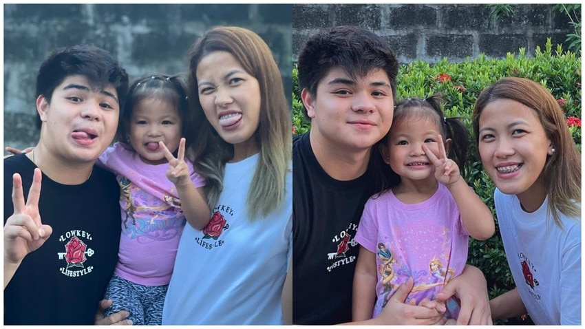 showtime family hashtag bugoy baby girl ej laure