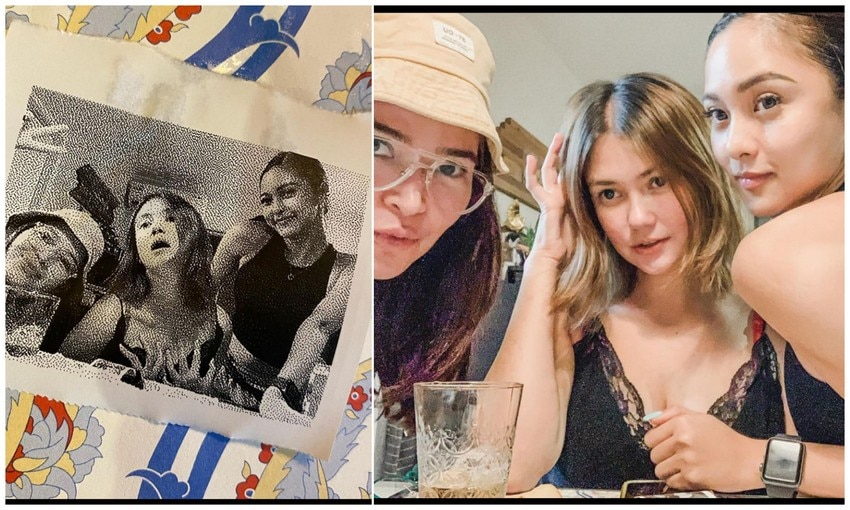 Kim Chiu with her gorgeous sisters at heart