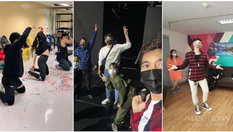 "PHOTOS: It's Showtime family preparing for ""Magpasikat 2020"""