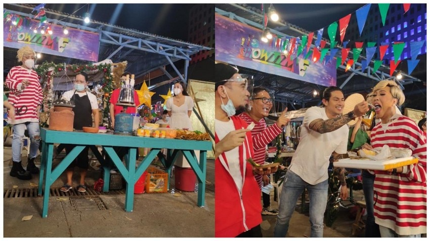 showtime family 202 abs cbn Christmas station ID shoot behind the scenes