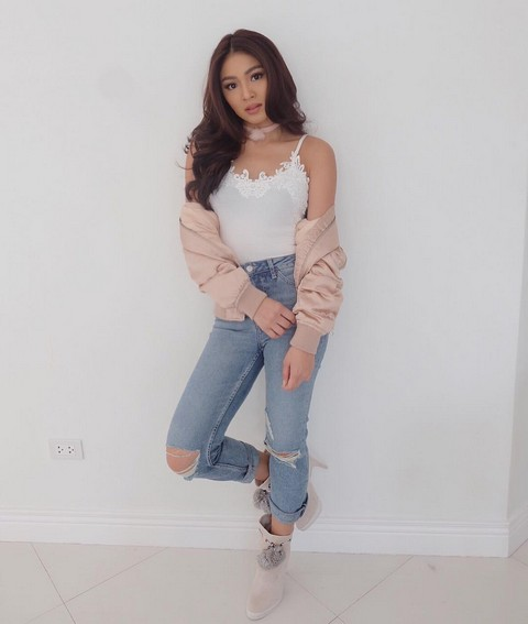 See more of Nadine's inherent, alluring sexiness in this gallery.