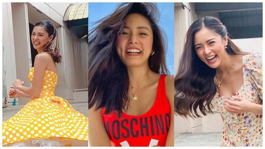 kim chiu hair flip photos