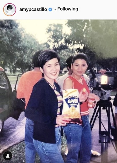 Check out Amy Perez' throwback moments capturing her enduring charm