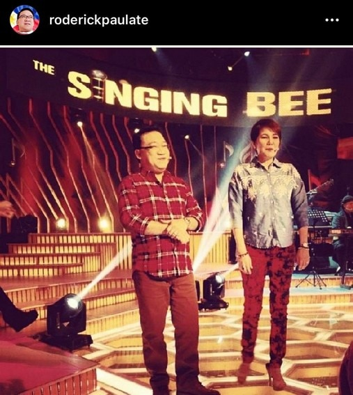showtime  singing bee partner Tyang Amy Perez Roderick Paulate bestfriend