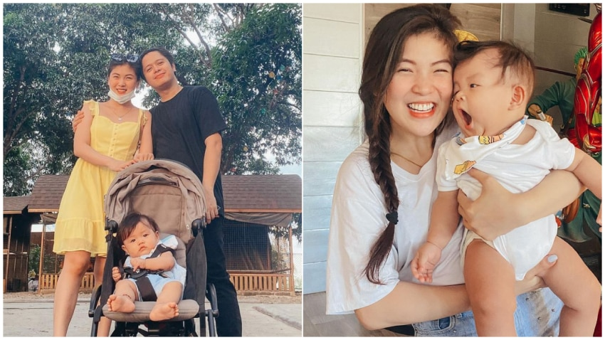 Happiest moment of former Girltrend Mikee with her cute baby Zyph in 18 photos