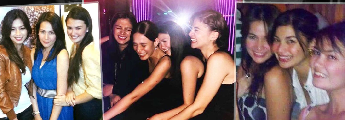 Angel Locsin Angelica Panganiban Anne Curtis Bea Alonzo friendship photos
