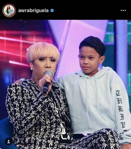 Vice Ganda awra photos mother son